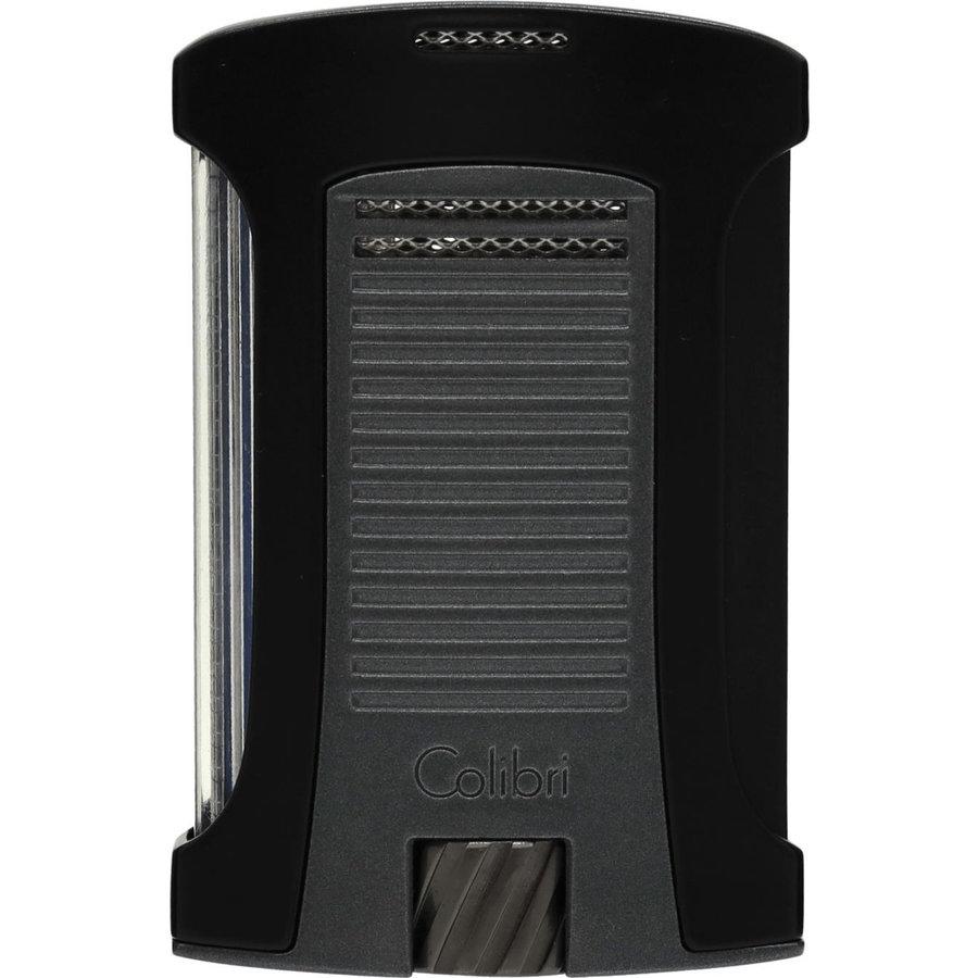 Lighter Colibri Daytona Black Charcoal