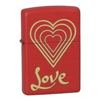 Lighter Zippo Love Heart