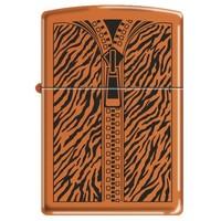 Lighter Zippo Orange Zipper