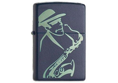 Lighter Zippo Jazz Saxophone