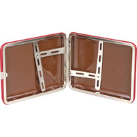 Cigarette Case Leather Red