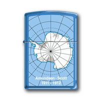 Aansteker Zippo Antarctica Amundsen Scott