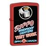 Zippo Aansteker Zippo Canada Logo