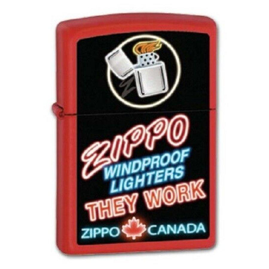 Aansteker Zippo Canada Logo