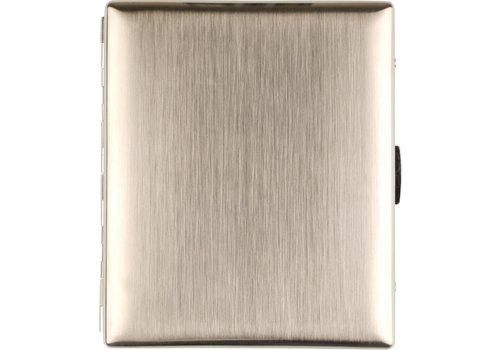 Cigarette Case Jean-Claude Brushed Nickel