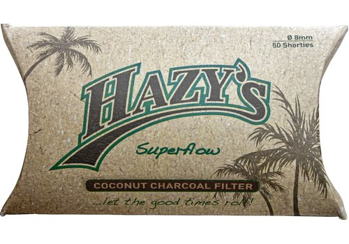 Hazy's 8 mm. Filters Coconut Charcoal