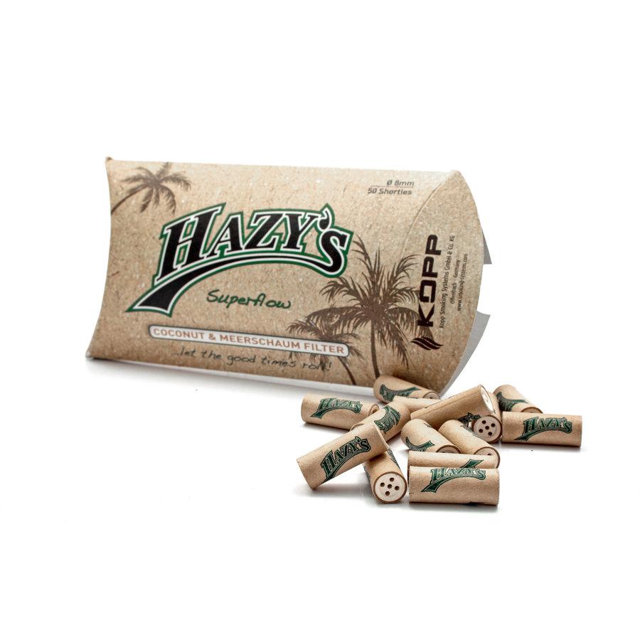Hazy's 8 mm. Filters Coconut Meerschaum Mix
