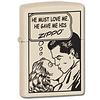 Zippo Aansteker Zippo Comic Love