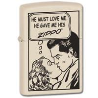 Aansteker Zippo Comic Love