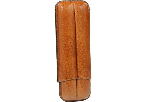Martin Wess Sigarenetui Light Brown 2 Robustos