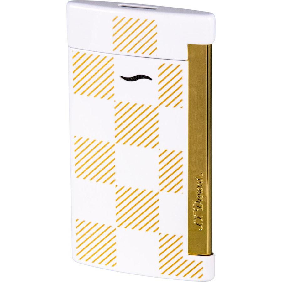 Lighter S.T. Dupont Slim 7 Checked White