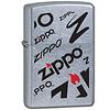 Zippo Aansteker Zippo Logo Mix