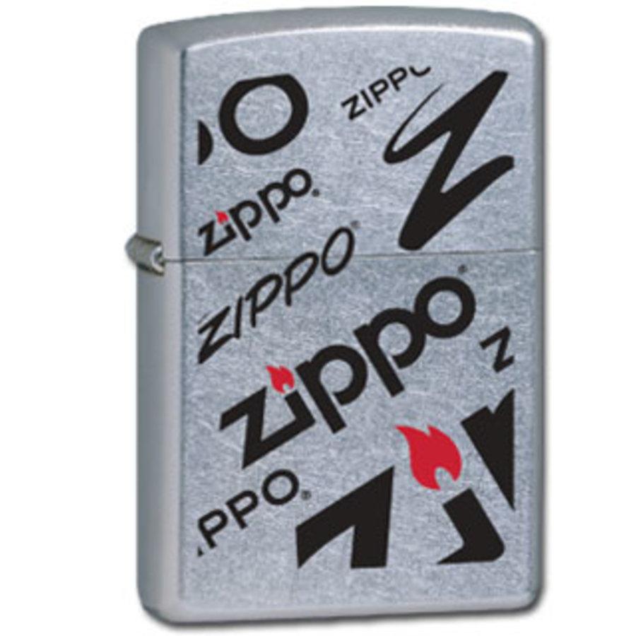 Aansteker Zippo Logo Mix