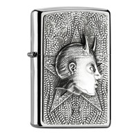 Lighter Zippo Female Devil Emblem