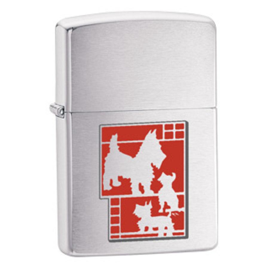 Lighter Zippo Dog Metallique
