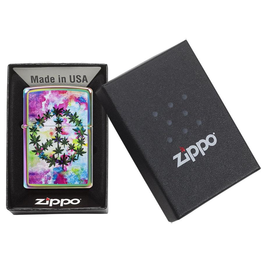 Aansteker Zippo Leaf and Peace