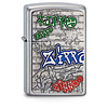 Zippo Lighter Zippo Graffiti Emblem