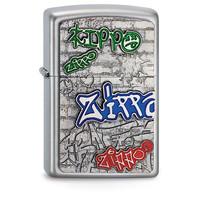 Lighter Zippo Graffiti Emblem