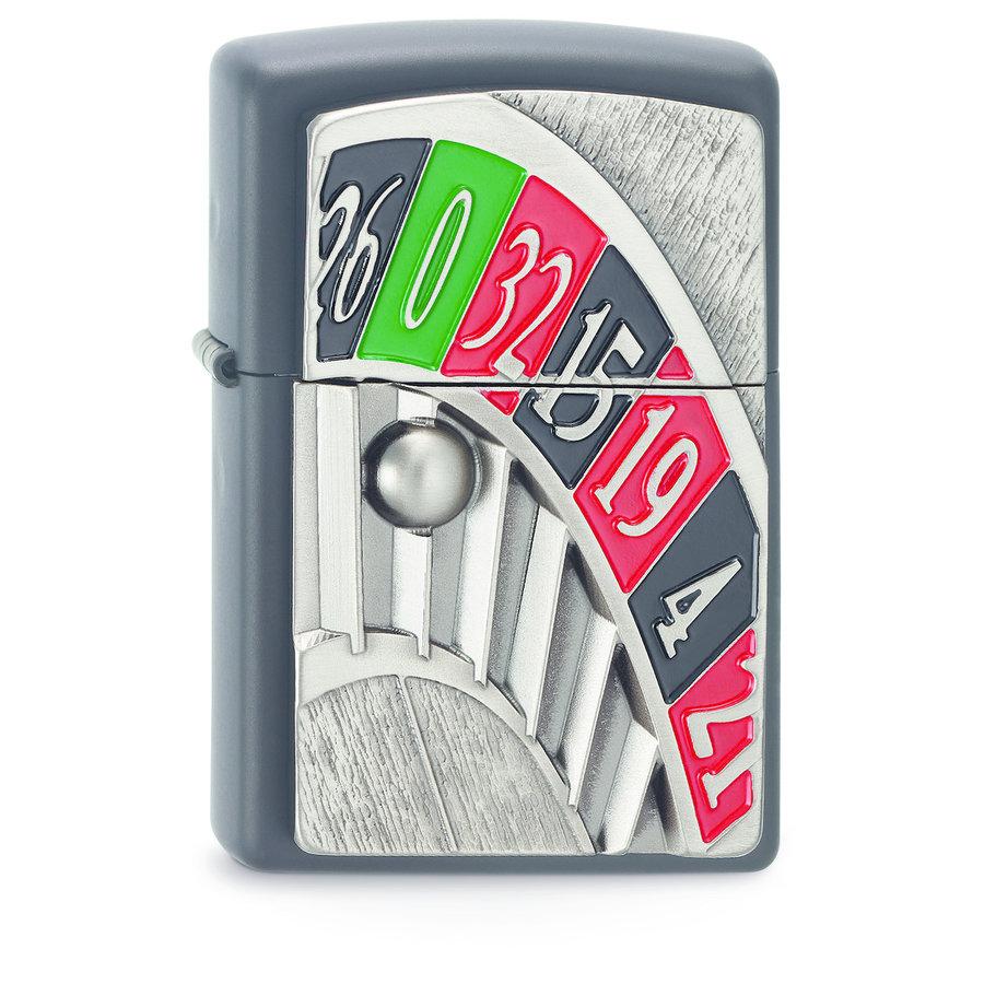 Lighter Zippo Roulette Emblem