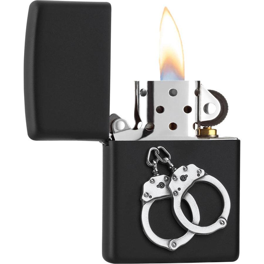 Lighter Zippo Handcuffs Emblem