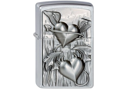 Lighter Zippo Heart Of Heaven And Hell