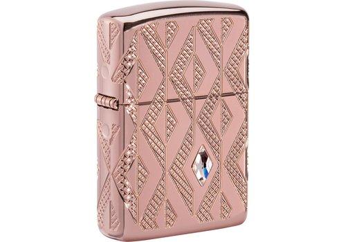 Lighter Zippo Armor Case Geometric Diamond