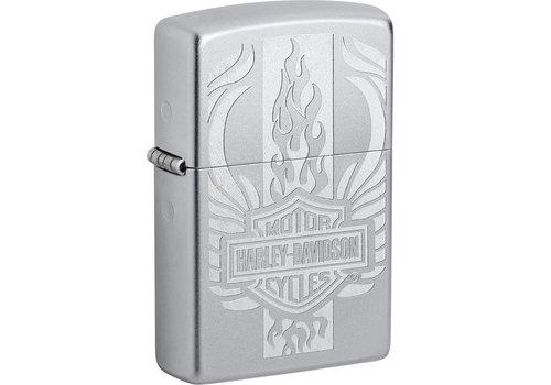 Aansteker Zippo Harley Davidson Logo Flame