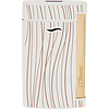 S.T. Dupont Aansteker S.T. Dupont Slim 7 White with Golden Lines
