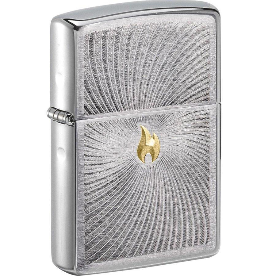Lighter Zippo Flame Spiral