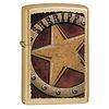 Zippo Lighter Zippo Sheriff Badge
