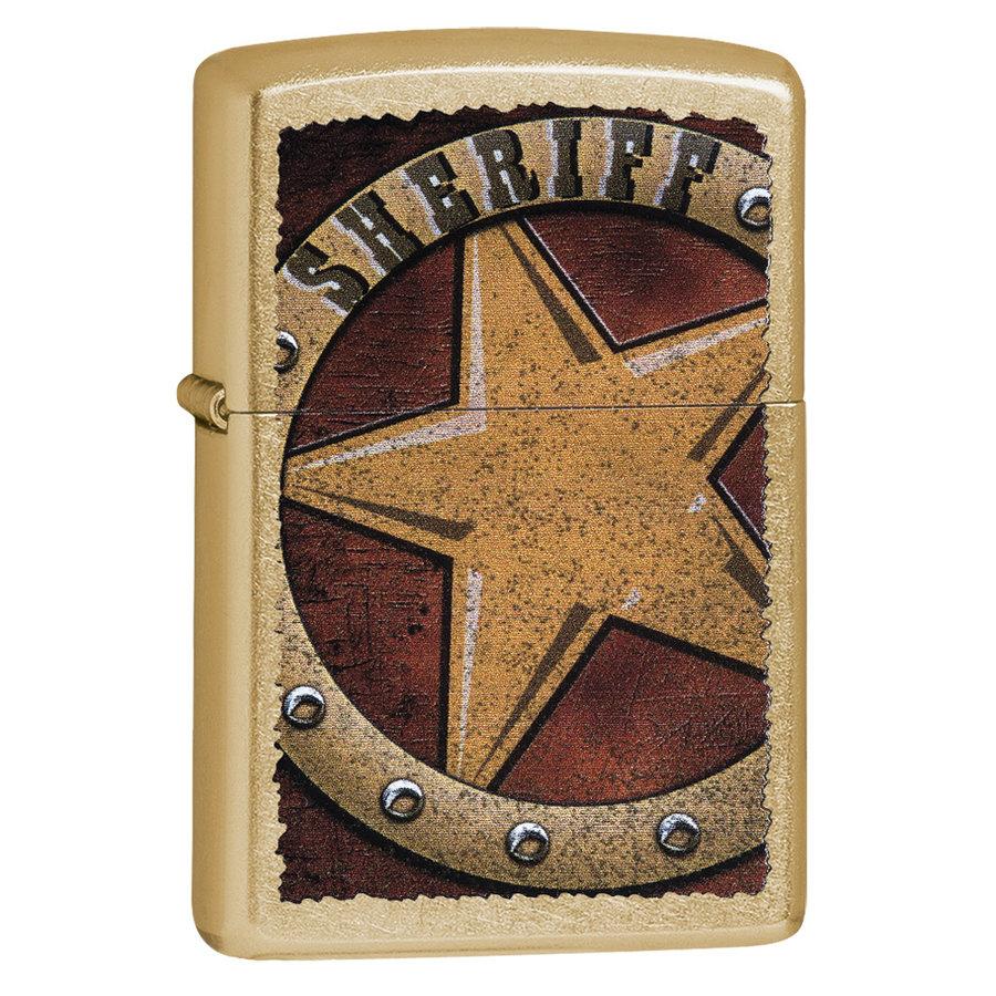 Lighter Zippo Sheriff Badge