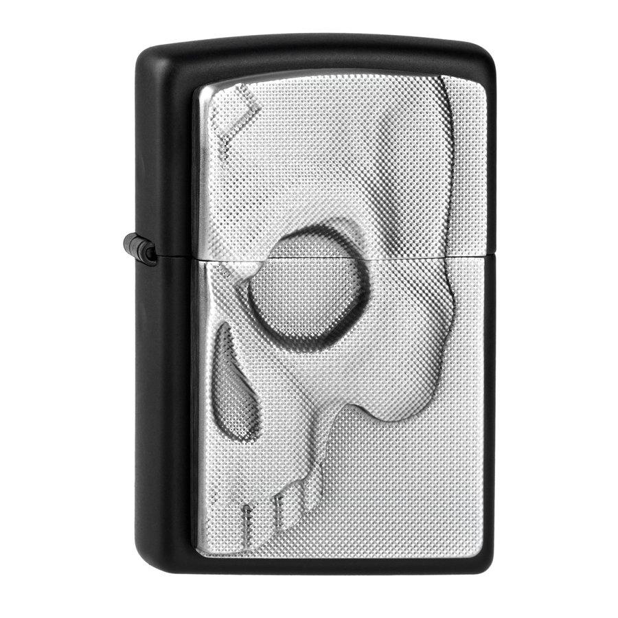 Aansteker Zippo Half Skull Emblem