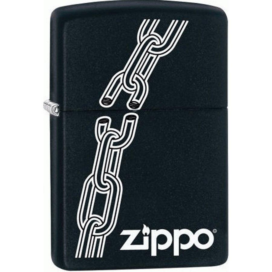 Lighter Zippo Broken Chain