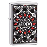 Lighter Zippo Flower Flames