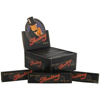 Smoking Kingsize Deluxe Black Vloei Box