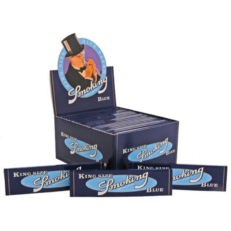 Smoking Kingsize Blue Vloei Box