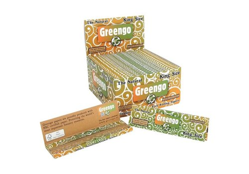 Greengo Kingsize Rolling Paper Box