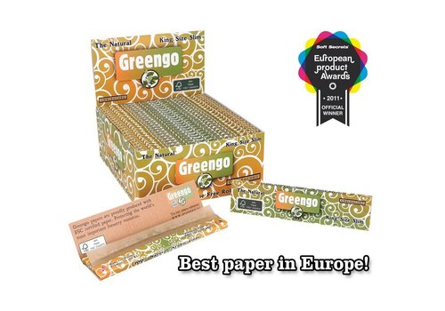 Greengo Kingsize Slim Rolling Paper Box