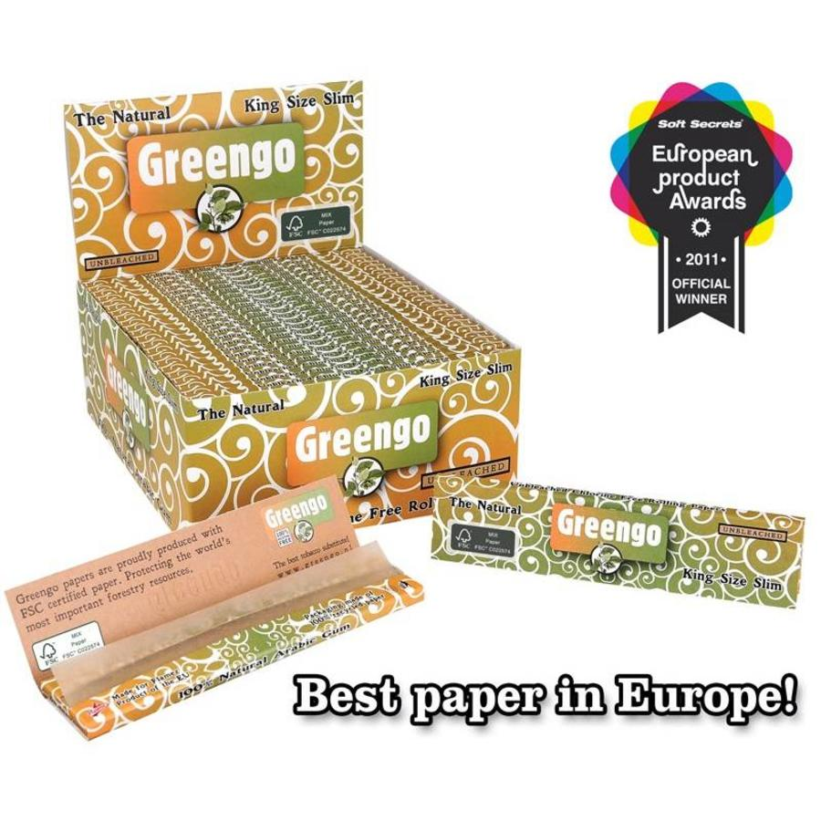 Greengo Kingsize Slim Vloei Box