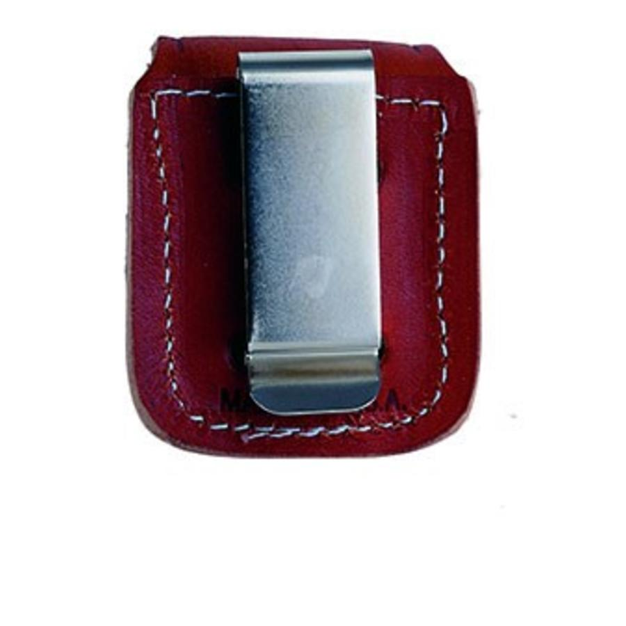 Zippo Pouch Brown with Clip