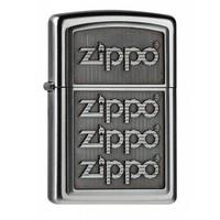 Aansteker Zippo 4 Zippo Logos 3D Emblem