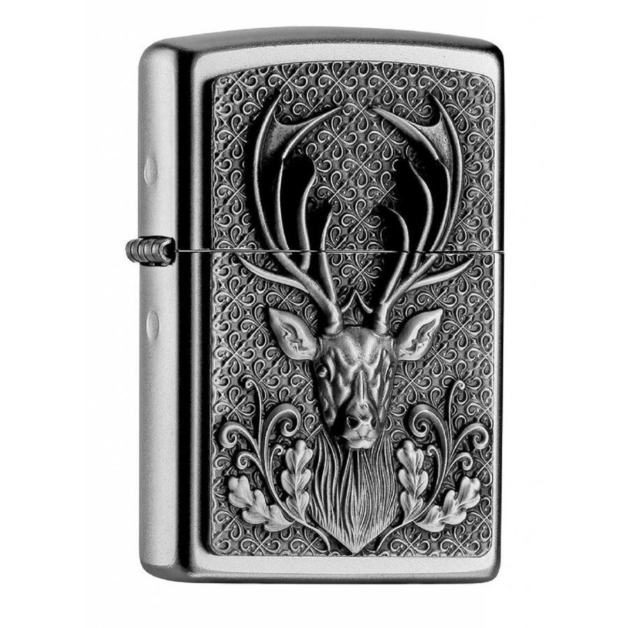 Lighter Zippo Deer Head Emblem