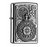 Aansteker Zippo Pocket Watch Emblem