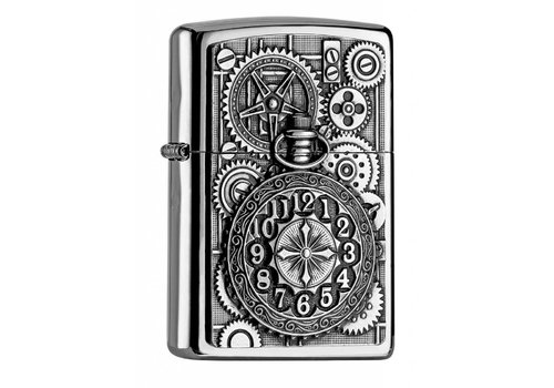 Aansteker Zippo Pocket Watch Emblem