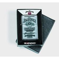 Aansteker Zippo Jim Beam Label Chrome