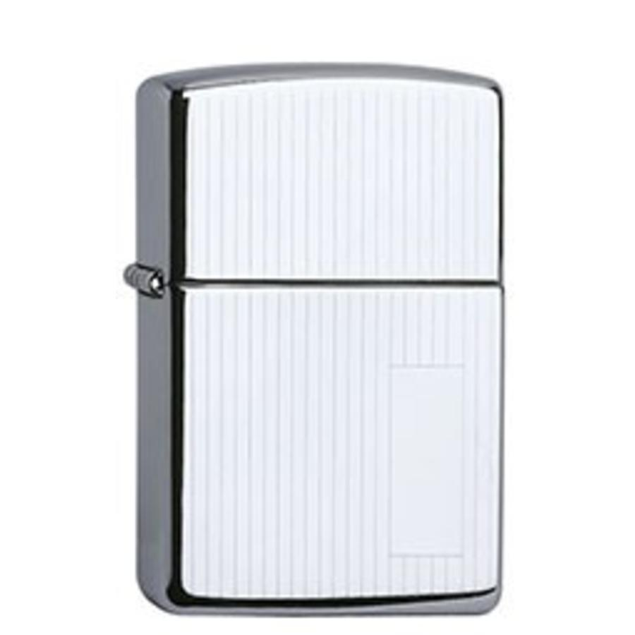 Aansteker Zippo Chrome Polished with Panel