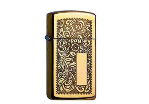 Lighter Zippo Slim Brass Venetian