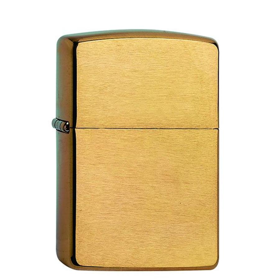 Lighter Zippo Brushed Brass