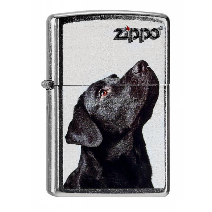 Lighter Zippo Black Lab