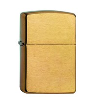 Lighter Zippo Armor Case Brushed Brass